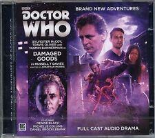 Dr Doctor Who Damaged Goods Audio CD MINT Sylvester McCoy