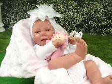 """Reborn Baby Puppe""""Gini"""",Spielpuppe,Sammlerpuppe,Babypuppe,Reborn,Vollvinyl"""