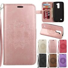 For LG Sony Moto Xiaomi Mandala Embossed Leather Flip Stand Wallet Case Cover