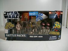 Star Wars Wal-Mart Exclusive Mos Espa Arena Battle Pack with cards ~ MISB