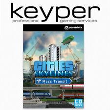 Cities: Skylines Mass Transit STEAM Key Neu [Deutsch/Multi] Digtal Download Code