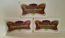 3 PACK - JABON DE TEPEZCOHUITE SOAP -Skin Regeneration Acne Burns stretch marks
