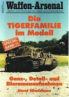 Zeitschrift Waffen-Arsenal Special Band 11, Die Tigerfamilie im Modell