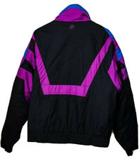 Vintage 80s 90s White Stag Ski Wear Gore Tex Full Zip Jacket Mens Medium Neon