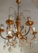 Grande importante Lampadario Antico in Cristallo, big Crystal Chandelier Antique