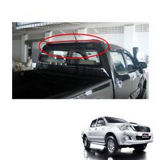 Rear Roof Spoiler Trim V3 Black Red Fit Toyota Hilux Vigo Champ Pickup 2011 - 14