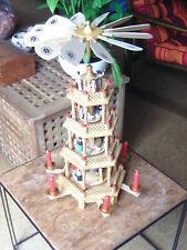 Weihnachtspyramide,Erzgebirge?DDR?,Weihnachten,Weihnachtsdeko,Pyramide,4-stöckig