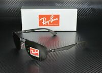 RAY BAN RB3528 006 71 Matte Black Green 61 mm Men's Sunglasses