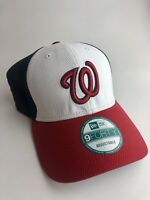 Washington Nationals New Era 9FORTY Adjustable Hat - Red White Blue - NEW