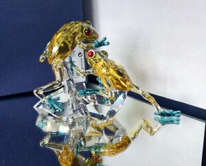 Swarovski Frösche Crystal Paradise 2021 Frosch Frogs Rana Rane 5522680 OVP NEU
