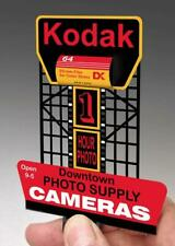 Miller Engineering 880901 HO/O Kodak Animated Neon Rooftop Billboard