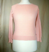 Atmosphere knitted top.  Long sleeves,  pink  uk size 10