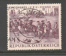 Austria #729 (A233) VF USED - 1964 1s Bringing The News Of Victory - Belloto