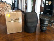Nikon AF-S NIKKOR 14-24mm F/2.8G Lens - Used with cracked hood