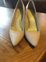 Womens Pink Pointed Toe Jessica Simpson Heels Sz 8