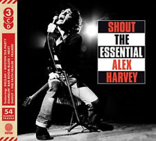 THE SENSATIONAL ALEX HARVEY BAND - SHOUT: THE ESSENTIAL - NEW CD COMPILATION - P