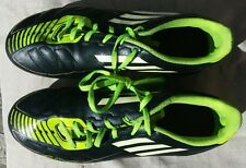 ADIDAS F50 Men's Black Yellow Soccer Football Cleats Size 5