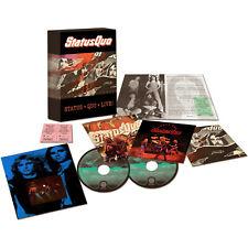 STATUS QUO Live! Glasgow & Tokyo '76 + Australia '74 / 2014 DELUXE 4-CD Box NEW