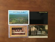 Lot of 20 postcards of New York. Cooperstown, NYC and more.