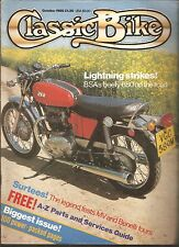 *CLASSIC BIKE MAGAZINE - OCTOBER 1985 [NO]