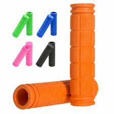 2 Pair MTB Bicycle Rubber Handlebar End Grips Soft for BMX Road Mountain Bike