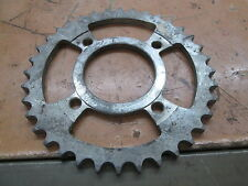 "36T Wheel Steel 4 Point Sprocket 7.5"" Diameter 4"" I to I Mount 2 7/8"" ID"
