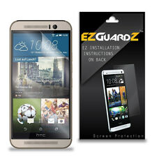 2X EZguardz LCD Screen Protector Skin Shield HD 2X For HTC One M9 (Ultra Clear)
