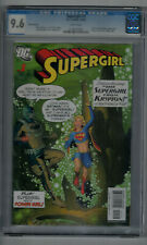 Supergirl #1 CGC 9.6 White Pages 2005 0138425004 3rd Print