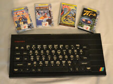 Sincliar ZX SPECTRUM 48K+ AV moded with four games
