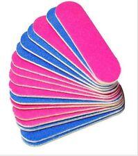 Mini Nail File Double Sided 100/240 Pedicure Manicure Travel Handbag Holiday UK