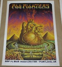 Foo Fighters Poster~Portland, Or~Emek~Moda Center~A/P~Pearl Paper~S&N/20~Doodled