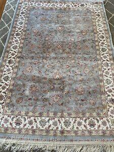 """Gorgeous Turkish Silk Rug 61"""" X 92"""" $3500"""
