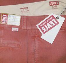 Levi's Vintage Clothing 1950 Big E Tab Twill Chino Pants Mens 28X32 NWT $240.00