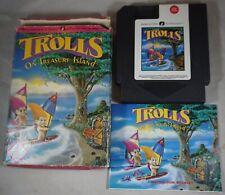 Trolls On Treasure Island (Nintendo NES) Complete in Box FAIR