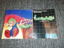 Lemmings - SEGA Mega Drive Replacement Instruction Manual only
