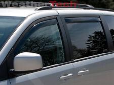 WeatherTech Window Deflectors - Chrysler Town & Country - 2008-2016 - Dark Tint