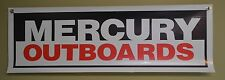 Mercury Marine Outboard Motor Sign Banner Bass Boat