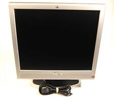 "HP Compaq 1730 17"" LCD Flat Screen Computer Monitor Desktop VGA DVI Speakers"