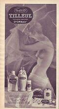 PUBLICITE ADVERTISING 034 1967 TILLEUL d'ORSAY  coffret toilettes cosmétiques