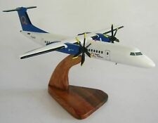 DHC-8 Hydro Quebec Q400 Airplane Wood Model Replica Large Free Shipping