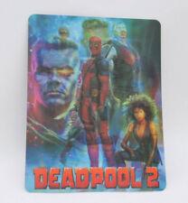 DEADPOOL 2 - Lenticular 3D Flip Magnet Magnetic Cover FOR bluray steelbook