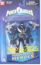 "Power Rangers TURBO 5"" Phatam Ranger New heroes series 6 Factory Sealed 2002"