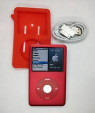 Apple iPod Classic 1TB SSD - 7th gen, red (full refurb, new battery + extras)