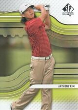 2012 SP Authentic Rookie Extended Golf Card #R3 Anthony Kim