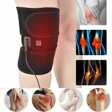 Electric Heated Leg Wrap Belt Brace Arthritis Pain Relief Knee Pad Warm Function