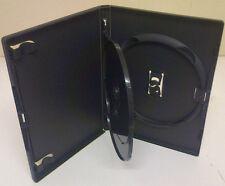 1 véritable triple noir Amaray DVD Case avec PLATEAU 14 mm