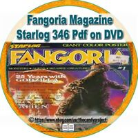 347 Fangoria Magazine Fanzine Pulp Fiction Horror Film Fan Pdfs DVD
