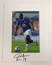 (1) An 8 x 6 inch mount with photo signed by Arouna Koné of Everton