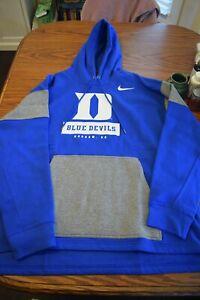 Mens Duke Blue Devils Nike hoodie. $75 retail