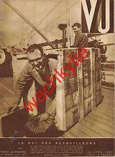 Vu 163 du 29/04/1931 William Randolph Hearst Fernand Gravey PMU Dreyfus Richepin